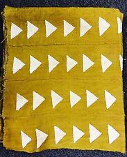 Mustard Color Mud Cloth