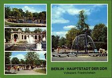 BERLIN Ost DDR Mehrbildkarte 1981 Friedrichshain Volkspark Fotos Mohr, Berlin