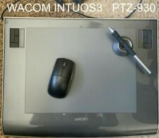 Wacom Intuos3 PTZ-930 TABLET Wireless GRIP PEN Stand USB Adobe Photoshop Corel