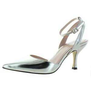 Kate Spade Womens Simone Patent Leather Pointed Toe Dress Pumps Heels BHFO 4253