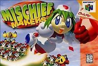 Mischief Makers Nintendo 64 Authentic N64 OEM Video Game Cart Tested Super Rare