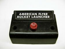 Relettered 1 Button Controller for American Flyer Rocket Launcher