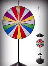 """36"""" Color Dry Erase Professional Spinning Prize Wheel Floor Stand Free shipping"""