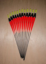 *BARGAIN* 12 x Assorted High Quality Pole Fishing Floats (Pack 327Y12)