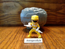 Power Rangers Micro Morphins Capsule Figures Yellow Ranger