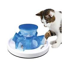 Trixie 46002 Cat Activity Tunnel Feeder 28 Cm/14 Cm
