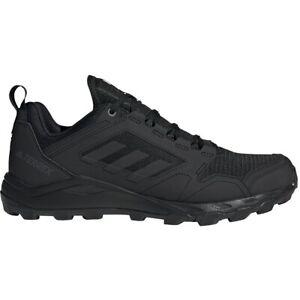 Adidas Men's Terrex Agravic Trail Hiking Shoes Black Running Sneakers - FW1452
