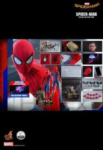 HOT TOYS SPIDER-MAN: HOMECOMING  SPECIAL EDITION 1/4 (READ DESCRIPTION)