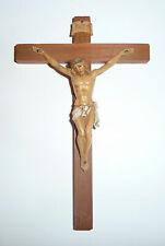 Fontanini7 INCH WOOD CROSS CRUCIFIX FIGURINE *NEW* 0283 RARE JESUS CHRIST USA