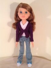 "BFC Ink 18"" Doll Addison. Brunette  Straight Arms,   Jointed legs, Knees"