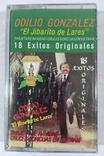 Odilio Gonzalez El Jibarito De Lares 18 Exitos  Kan-OSO RECORDS Cassette Sealed