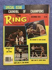 THE RING BOXING VINTAGE MAGAZINE MUHAMMAD ALI DANNY LOPEZ Nov '79 NR MINT UNREAD