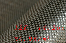 12K 480gsm High strength Real Carbon Fiber Cloth Fabric For Filling Strengthen