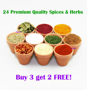 Dried Herbs & Spices | BUY 3 get 2 FREE | Premium Quality | ** SPECIAL OFFER **
