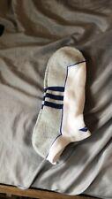 Adidas Cushioned Low Cut Socks White Sz Large  6-12 2 Pair