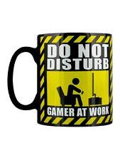 Mug Gamer at Work Coffee Black
