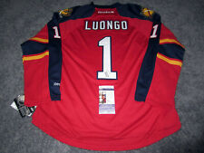 ROBERTO LUONGO Florida Panthers SIGNED Autographed JERSEY w/ JSA COA L NEW