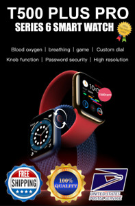 Smart Watch IOS Android Iphone Apple Samsung LG T500+PRO Men Kids Watches
