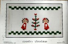 ~ NEW LITTLE MEMORIES COUNTRY CHRISTMAS SMOCKING DESIGN PLATE CHRISTMAS  ~