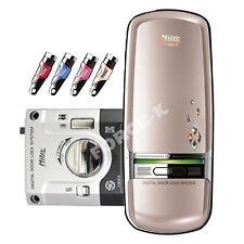 NEW Milre MI-350D Digital Door Lock Keyless Entry Passcode + 4 Touch Keys - Gold