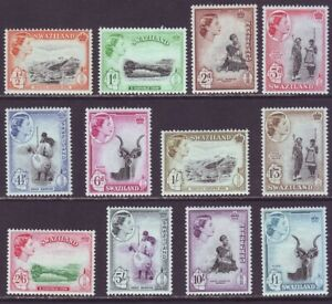 Swaziland 1956 SC 55-66 MH Set
