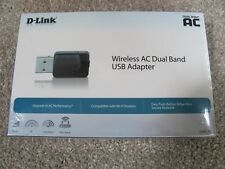 Brand New D-Link Wireless AC Dual Band USB Wi-Fi Network Adapter (DWA-171)