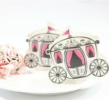 Fairytale Pumpkin Carriage Cinderella Wedding Party Candy Boxes 100 pcs