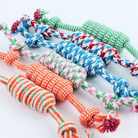 Pet Puppy Toys Chew Knot Cotton Bone Rope Puppy Dog Small Pets Supplies