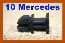 10 Mercedes Benz Fascia Panel Recorte de tronco de arranque Clip Sujetador Push