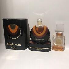 Lancome Magie Noire Extrait Parfum 7,5ml  & 7,5ml Empty Bottle