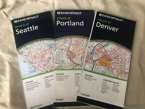 3 Rand-McNally City Maps: 2007/8