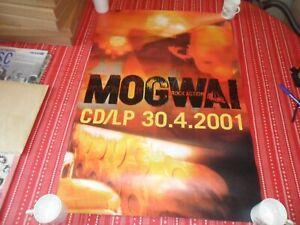 MOGWAI- ROCK ACTION  2001 ALBUM PROMO POSTER