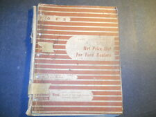 1928 THRU 1956 FORD DEALERSHIP PARTS & ACCESSORIES NET PRICE LIST 1955
