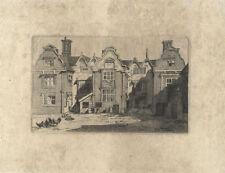 Originaldrucke (1900-1949) mit Landschafts-Motiv und Radierungs-Technik