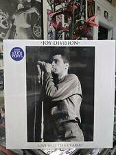 JOY DIVISION Love Will Tear Us Apart 12 in. Blue Vinyl Leaders of Men Ian Curtis