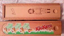 French Vintage Pencil Boxes LE PETIT CHOU Wonderful Vintage Woodworking