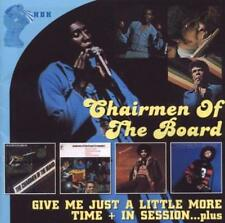 CHAIRMEN OF THE BOARD Give Me Just A Little More Time NEW & SEALED 2CD 70s SOUL