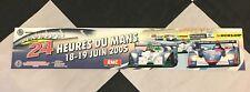 2005 LE MANS 24 HOURS HEURES ORIGINAL PERIOD RACE STICKER AUTOCOLLANT AUDI R8