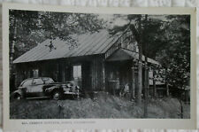 c1950 Cherry Cottage at Darts Camp in the Adirondacks NY real photo postcard