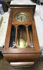 Antique Regulator Clock Gustav Becker SILESIA Working