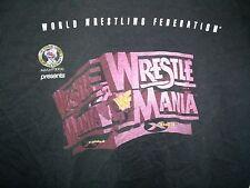 WWF Wrestlemania 14 XL T-Shirt X-Raided Austin Michaels XIV WWE Mike Tyson