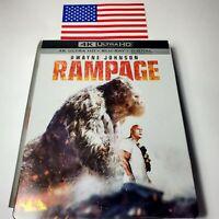 Rampage ( SteelBook 4K Ultra HD Blu-ray Best Buy) **no digital**