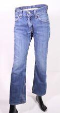 Bj3-51 LEVIS 601 Unisexe Jeans w28 l32 bleu straight leg Zip Fly CLASSIC-FIT