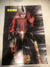 "KISS Exposed Paul Stanley/Gene Simmons 2-Sided POSTER 31 1/4"" X 21 1/4"""