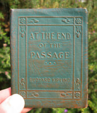 LITTLE LEATHER LIBRARY At The End of The Passage KIPLING Vintage Book Literature