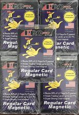 (5) Pack Pro-Mold Magnetic One Touch UV Card Holder - Regular Card 20pt