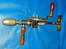 Vtg. Craftsman #1071 Eggbeater Shoulder Drill Hand Drill Cast iron 2 Speed Gears