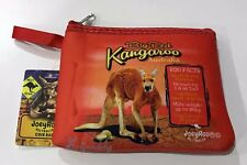 6 X Australian Souvenir Coin Money Case Pouch Bag Big Red Kangaroo Out Back