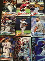 2018 Topps Baseball Series One 1 Card Singles 1-250)  MLB (You Pick Your Cards)