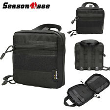 1000D Molle Tactical Tool Bag Medical First Aid Pouch Recycle Storage Case Black